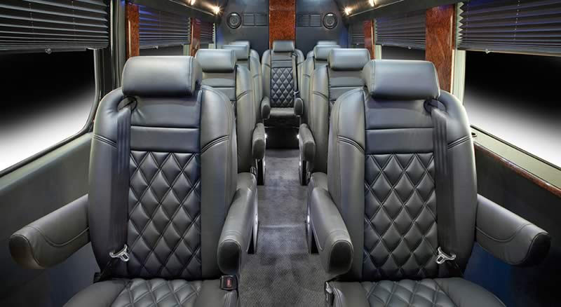 Interior Mercedes Sprinter